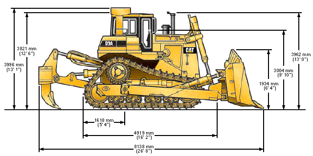 bulldozer Cat_D9